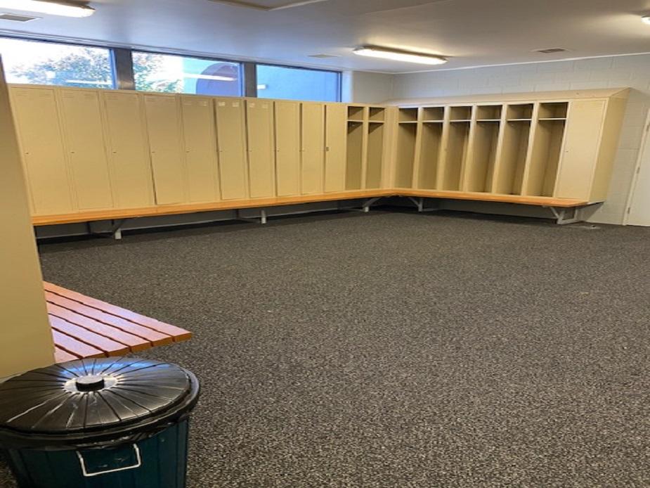 Queen Elizabeth Oval Away Change rooms