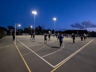 Marist Community Facility Netball Courts