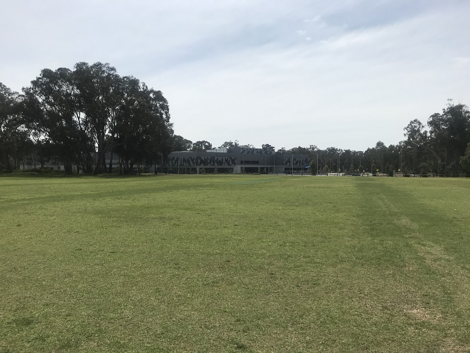 Browning Street Oval
