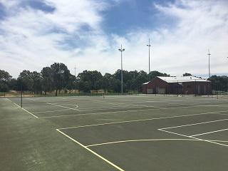 Epsom Huntly Recreation Reserve Netball/Tennis Court