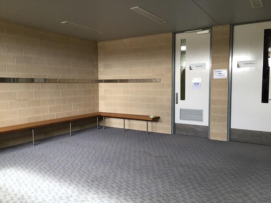 Change rooms 3 & 4