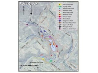 Ross Creek Track Maps
