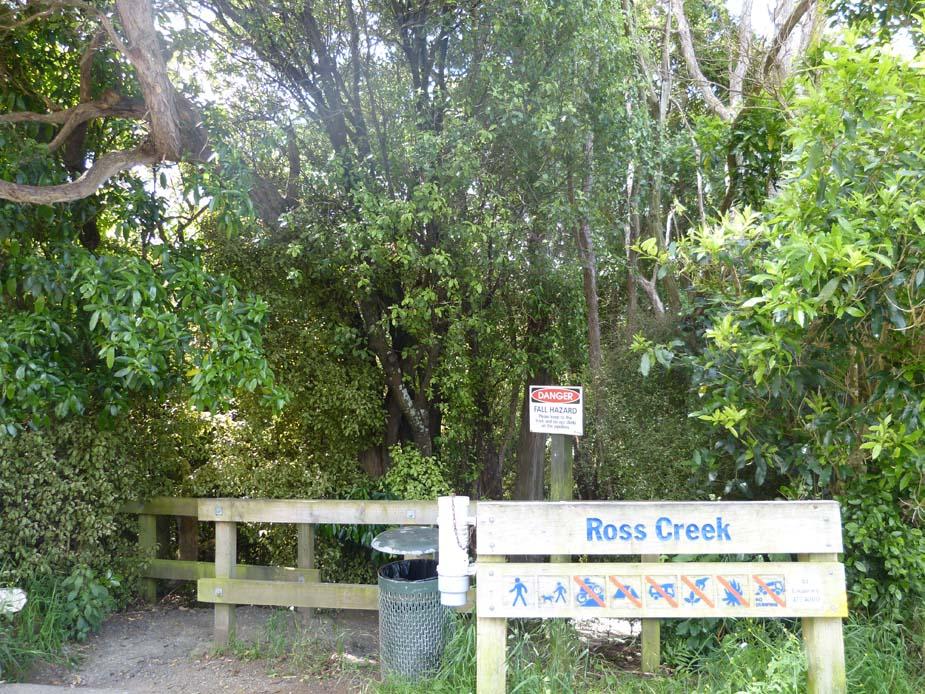 Ross Creek- Entrance