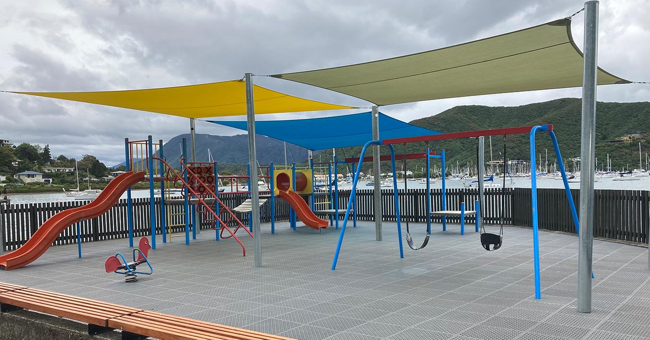 Waikawa Foreshore Playground