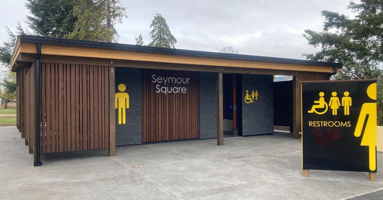Seymour Square - Public Toilet