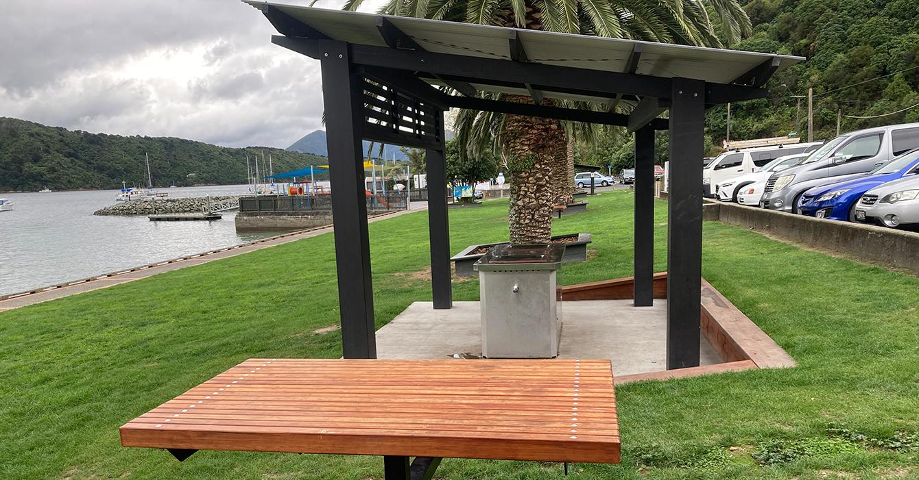 Waikawa Foreshore Reserve BBQ