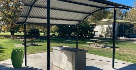 Pollard Park - BBQ Area