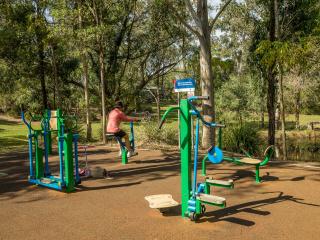 Capalaba Regional Park - Fitness Equiptment