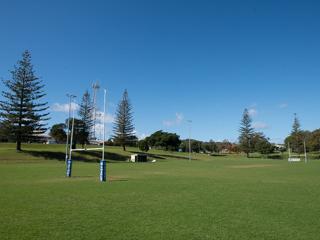 Dunwich Ron Stark Oval - Senior Rugby League Field