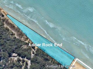 Adder Rock End Map