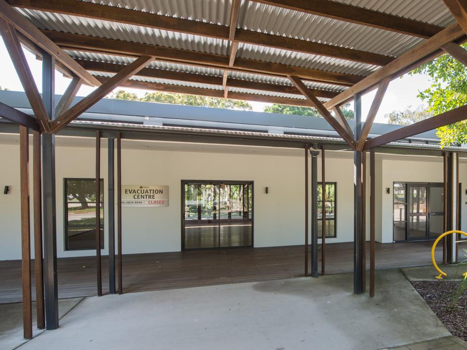 Hall - Exterior