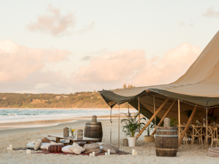 Home Beach - Adder Rock End - Private Wedding Setup Example