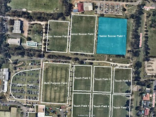 Soccer Field 1 (Senior) - Bookable Area - Map