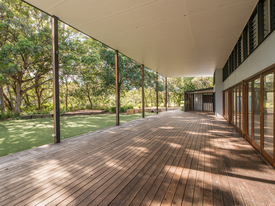 Hall - Exterior Verandah