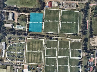 Soccer Field 3 (Junior) - Bookable Area - Map