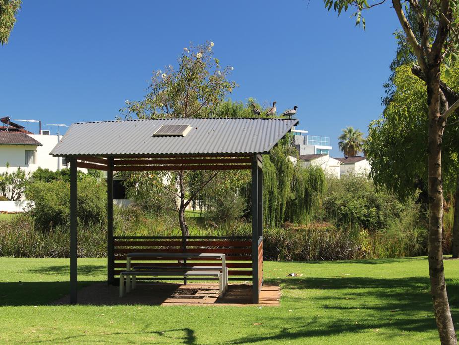 Clydesdale Reserve gazebo