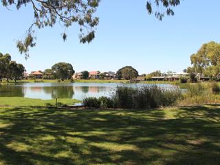 Lake next to Zone 11