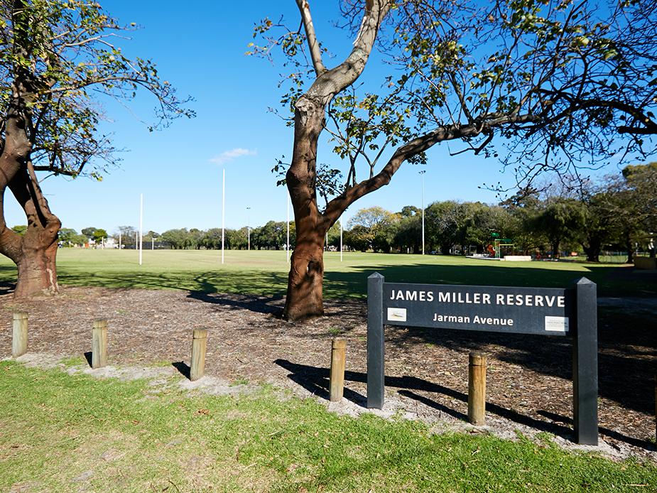 James Miller Reserve