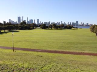 City skyline from Zone 6