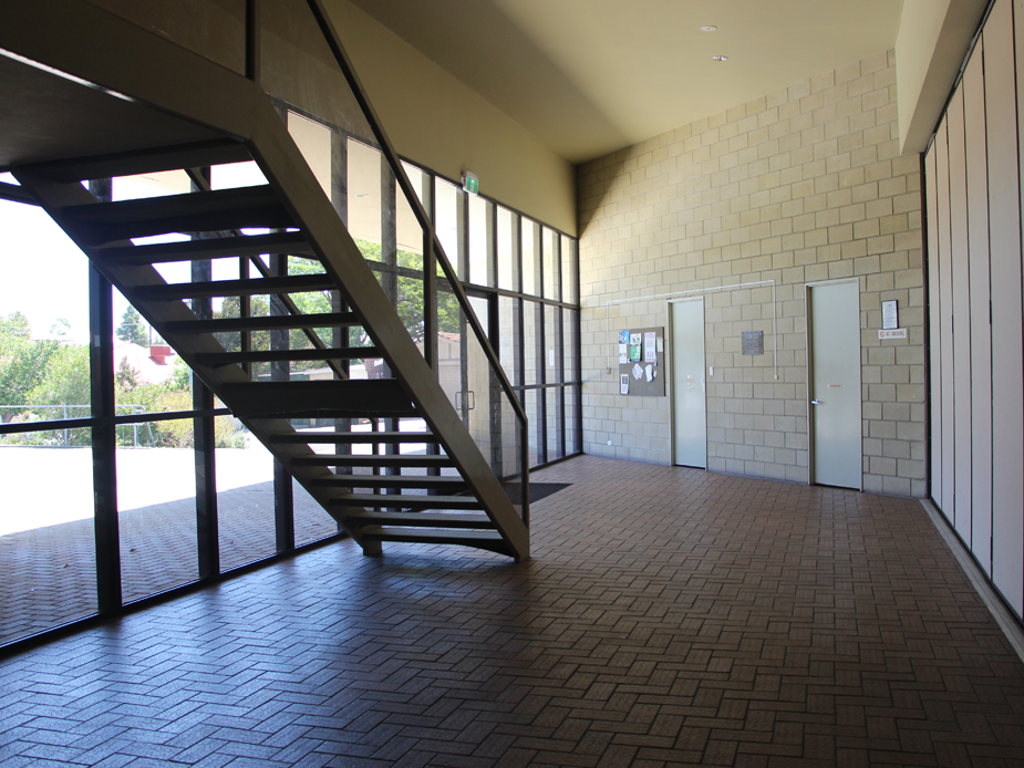 Stairs leading to Meeting Room 2