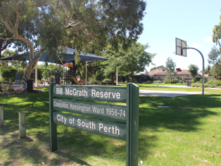 Bill McGrath Reserve