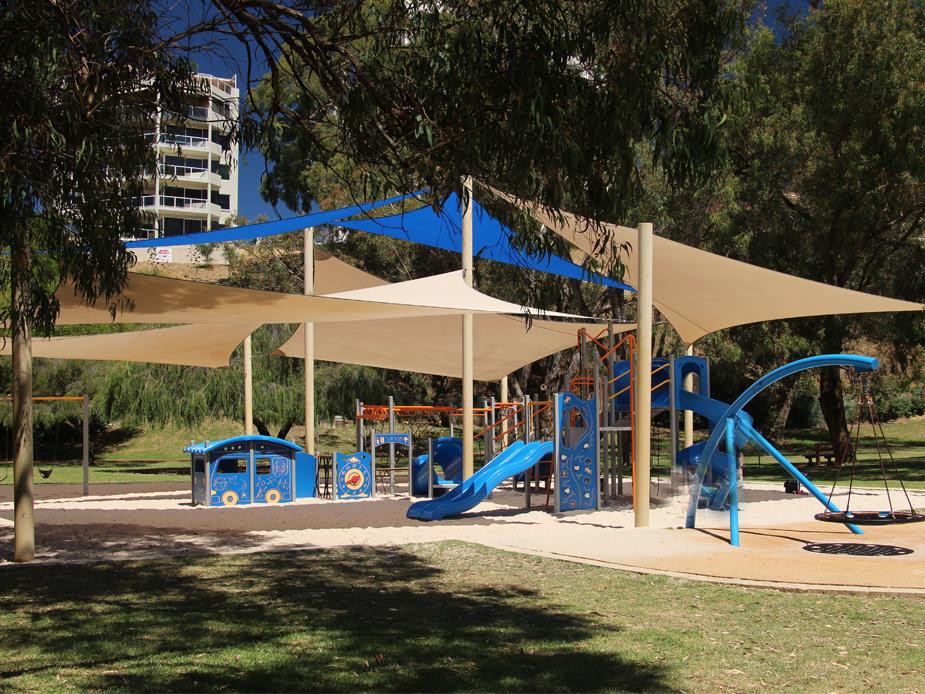 Playground next to Zone 5