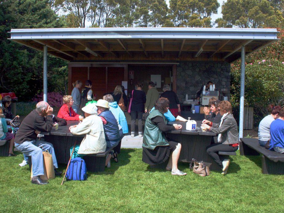 Hollard Gardens Main Lawn Pavilion
