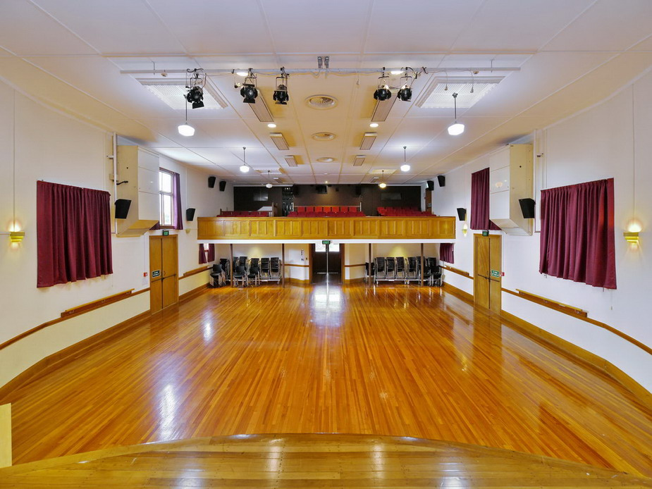 Main Hall - View from stage