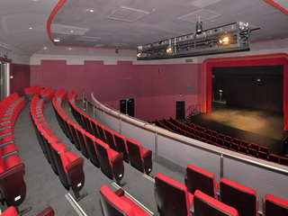 Main Auditorium - View from Gallery, lighting gantry