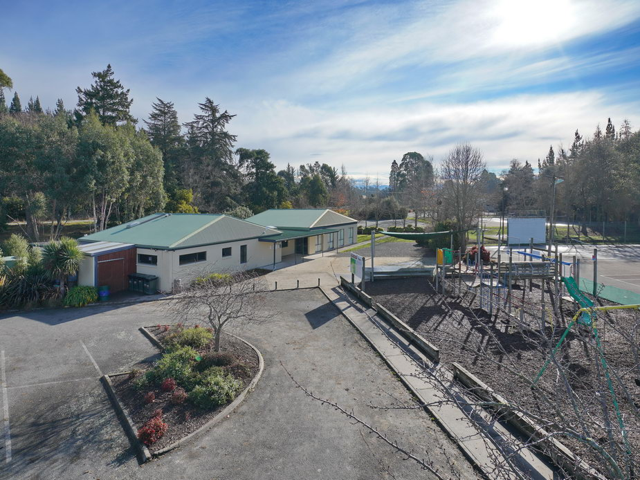 Pavilion and Playground