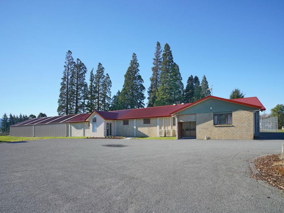 Carpark - Hall & Museum Entry