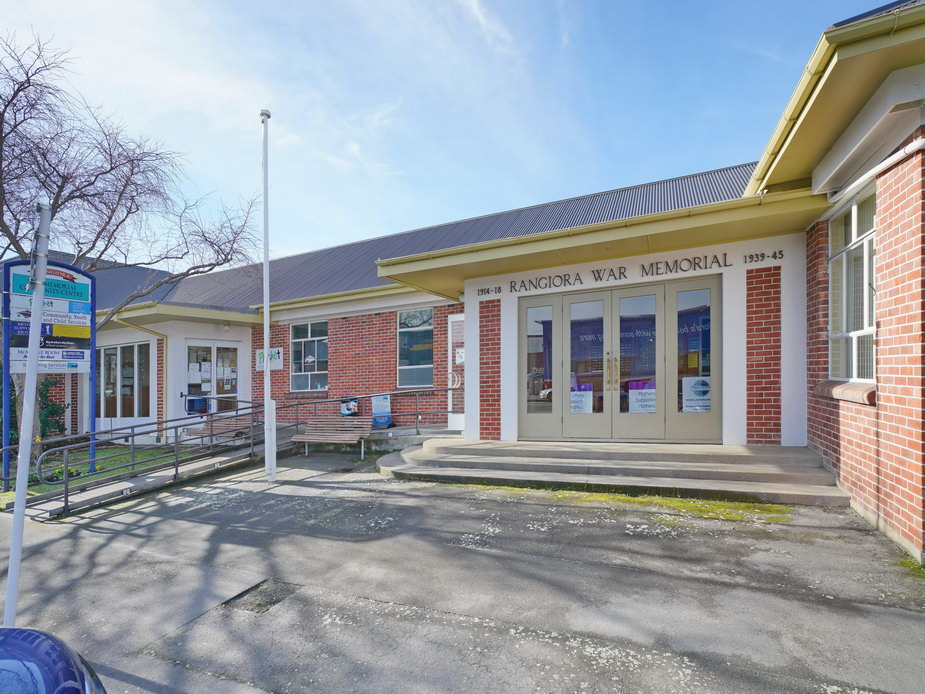 Rangiora War Memorial Hall