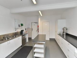 Kitchen - towards Sports Hall