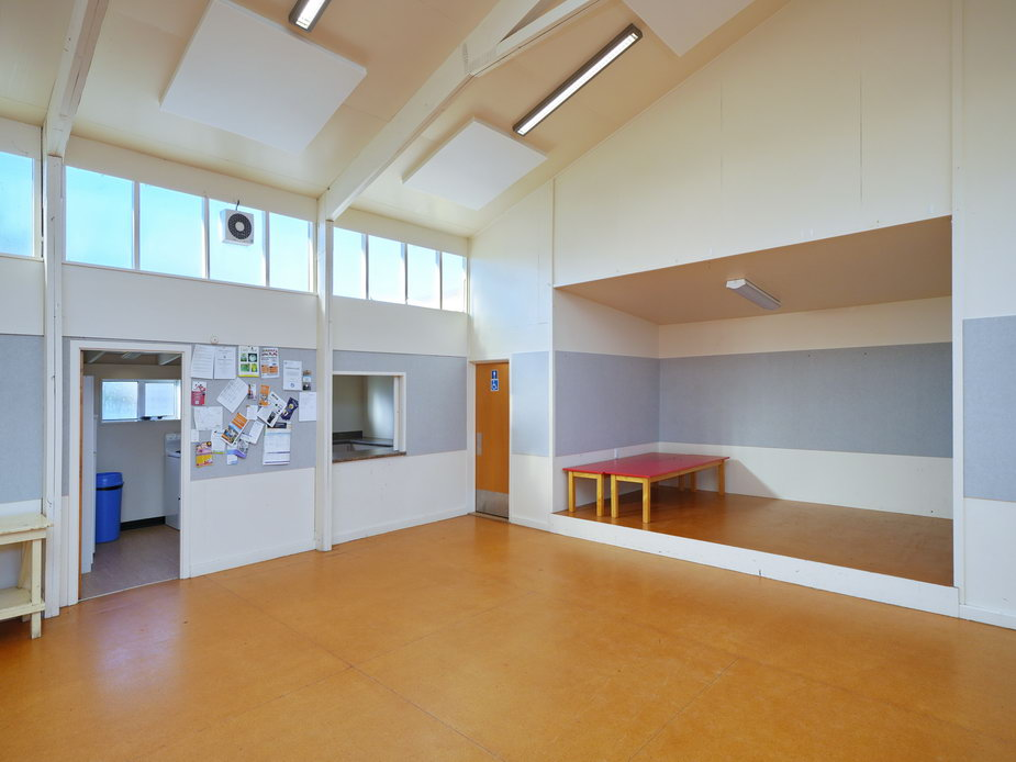 Hall Stage & Kitchen