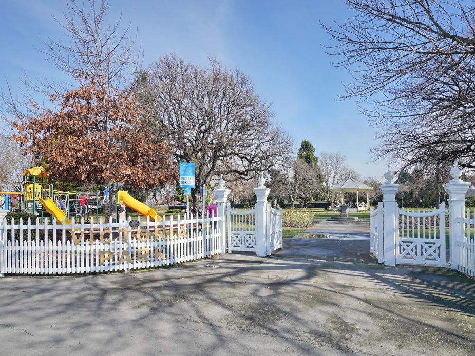 Victoria Park - Main Gates