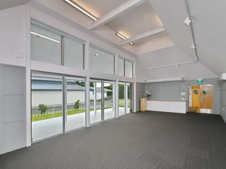 A&P Room - view back to link space doors