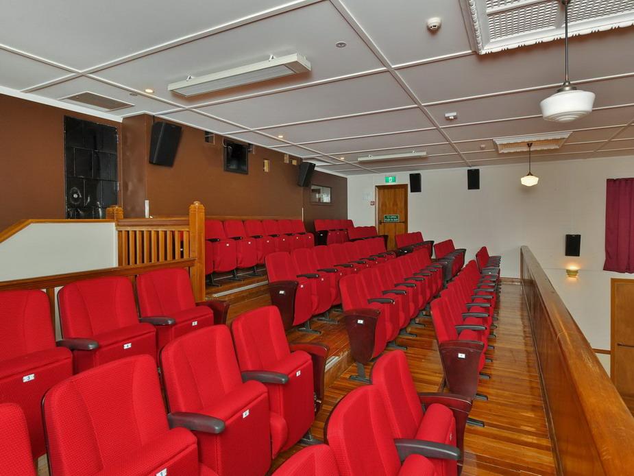 Main Hall - Mezzanine seating