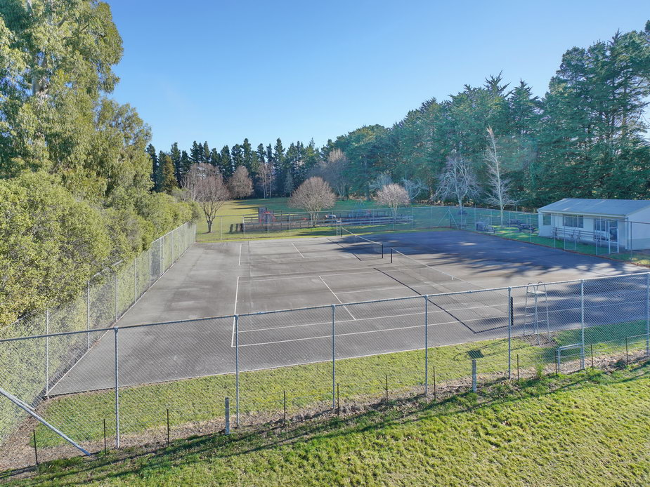 Tennis Courts & Pavilion