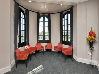 Function Room - turret windows