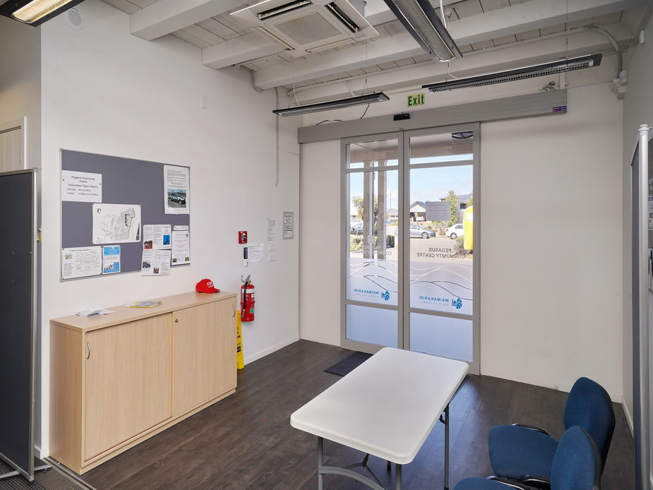 The Big Room - Direct access doors