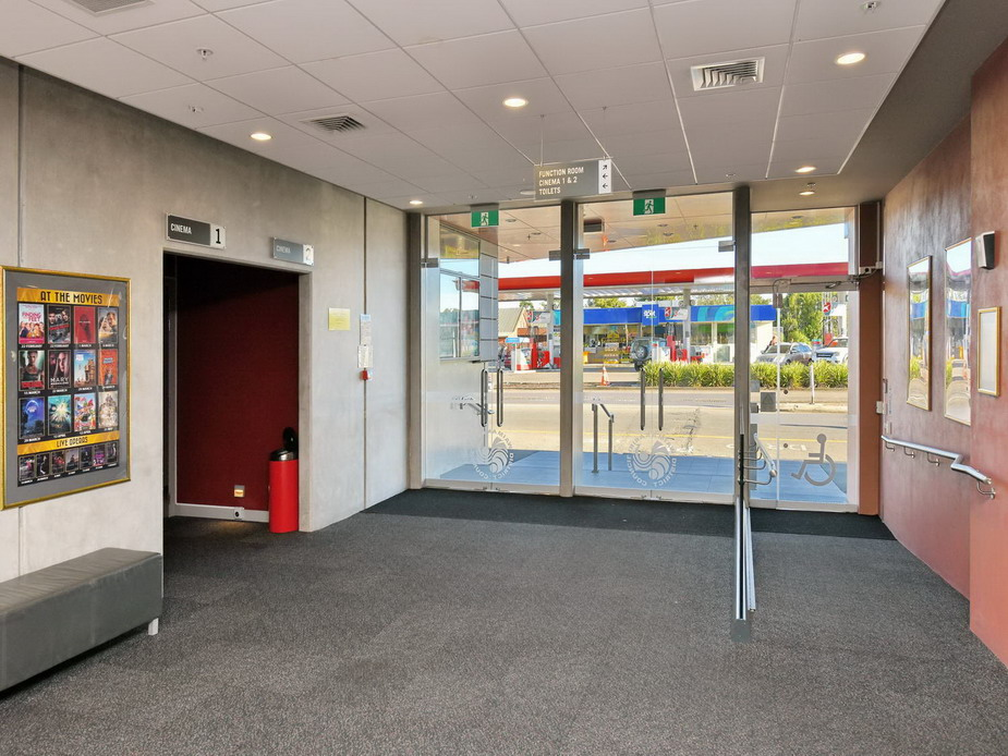 Main foyer - entrance doors