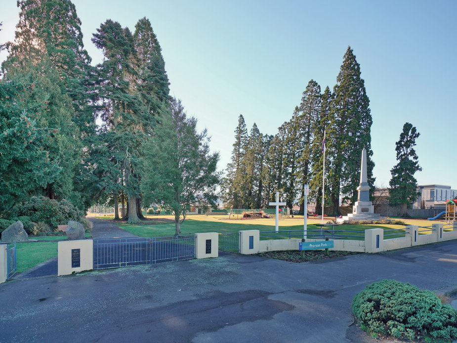 Pearson Park - Main Street View