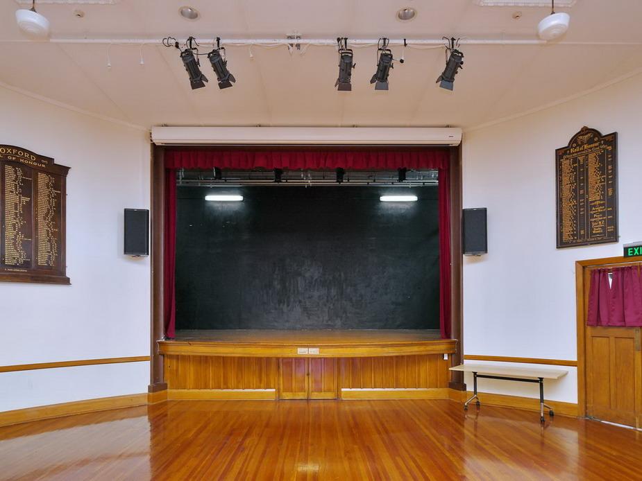 Main Hall - Cinema screen position